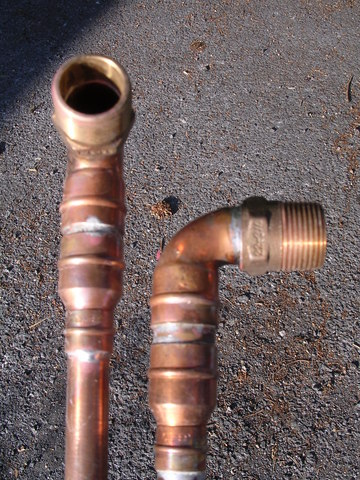 Install Bar Shower Valve In Solid Wall Copper Pipe Diywiki