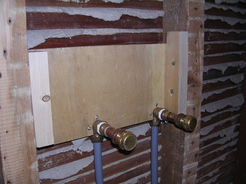 Install Bar Shower Valve Stud Wall Diywiki