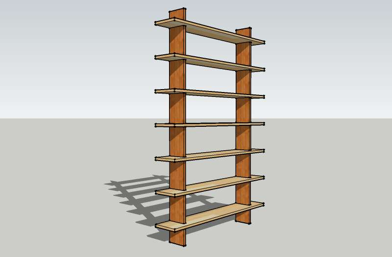 Knockdown Free Standing Shelf Diywiki