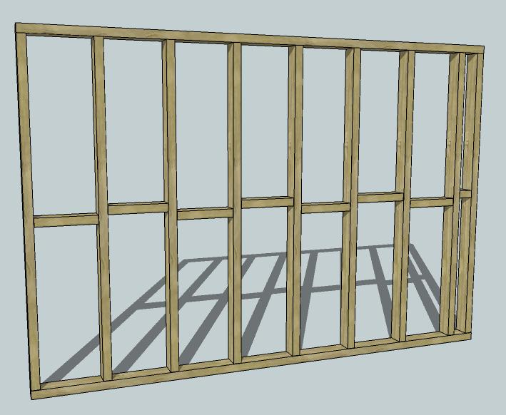 Stud Wall Construction : Stud wall diywiki