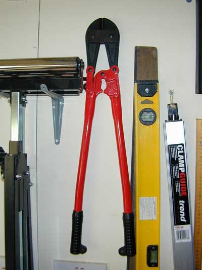 Large bolt croppers