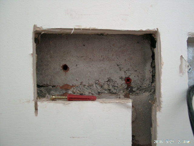Electrics Socket Chasing Flush With Wall Diywiki