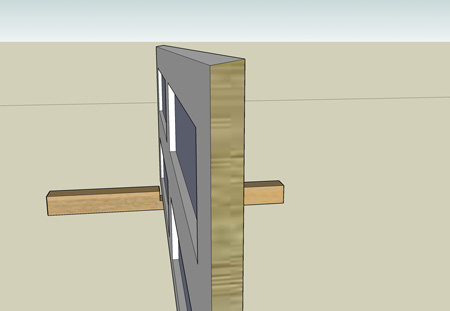 Chamfered edge