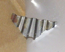 Corrugated fixing