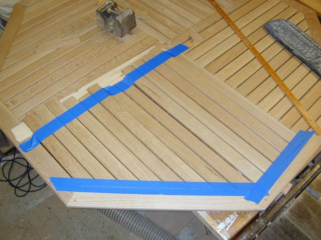 Table Slats taped in place.jpg